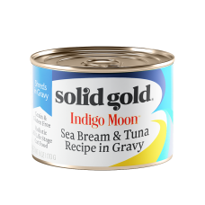 Solid Gold Indigo Moon Sea Bream & Tuna Recipe in Gravy 170g