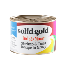 Solid Gold Indigo Moon Shrimp & Tuna Recipe in Gravy 170g