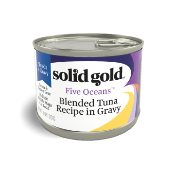 Solid Gold Five Oceans Blended Tuna Recipe In Gravy 170g
