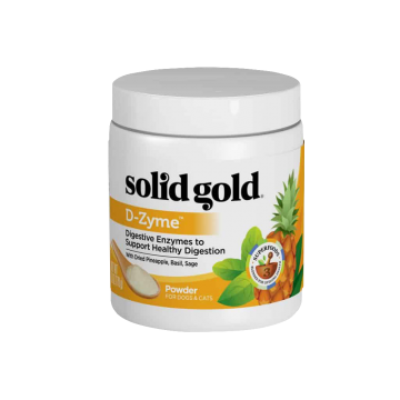 Solid Gold D-Zyme Digestive Enzymes For Healthy Digestion Power 170g