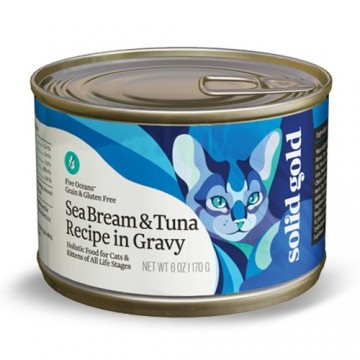 Solid Gold Five Oceans Seabream & Tuna170g