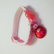 Tarky Safety Collar Pink Heart Shape