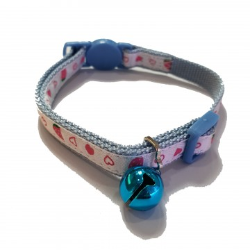 Tarky Safety Collar Strawberry Light Blue