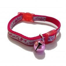 Tarky Safety Collar Pink CatBeat Shape