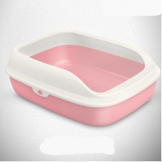 Tom Cat Pakeway Large Cat Litter Tray Pink
