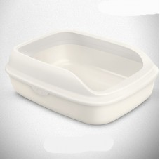 Tom Cat Pakeway Large Cat Litter Tray White