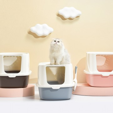 Tom Cat Pakeway ARK Litter Box Coffee