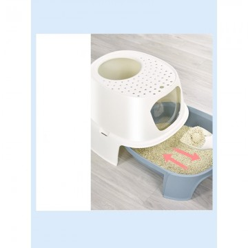 Tom Cat Pakeway Rocket Litter Box Pink