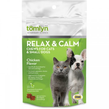 Tomlyn Relax & Calm Chews Chicken 90g
