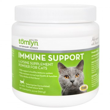 Tomlyn Immune Support  L-Lysine Supplement Powder 100g