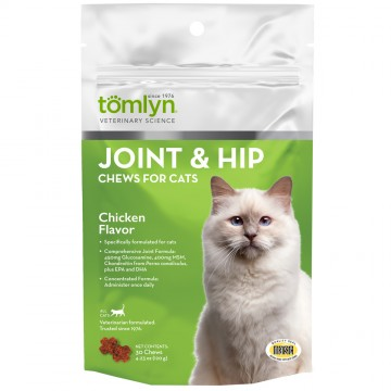 Tomlyn Joint & Hip Chews Chicken Flavor 120g