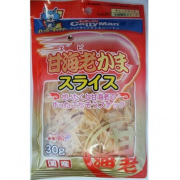 CattyMan Shrimp Slices 25g