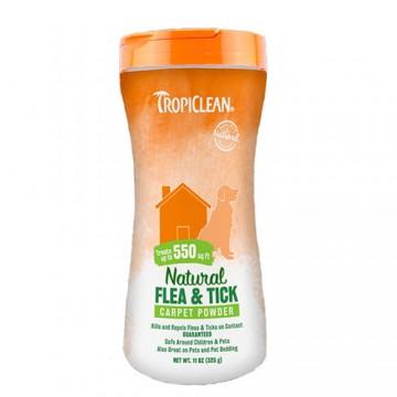 Tropiclean Natural Flea & Tick Carpet Powder 325g