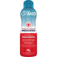 TropiClean Oxymed Medicated Oatmeal Treatment Rinse (Helps Heal Common Skin Conditions)  592ml