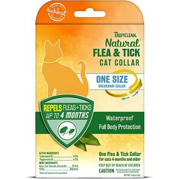 TropiClean Natural Flea & Tick Cat Collar