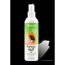 TropiClean Pet Spray Papaya Mist Deodorizing (Long-lasting & Tropical Freshness)  236ml