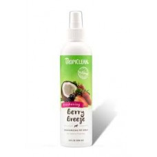 TropiClean Pet Spray Berry Breeze Deodorizing (Fresh Raspberry & Mango Scent) 236ml