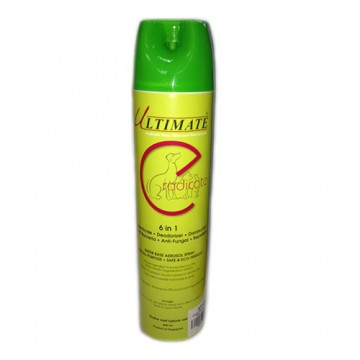 Ultimate Eradicate 6 In 1 Water Base Aerosol Spray 600ml