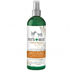 Vet's Best Anti-Flea Spray Shampoo 16oz