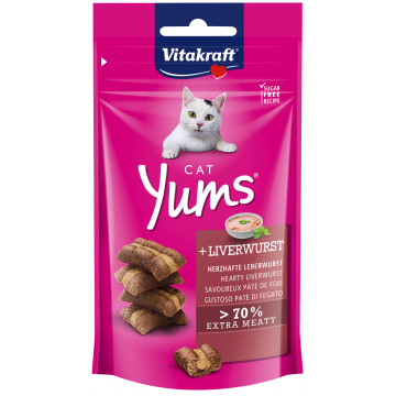 Vitakraft Cat Yums LiverWurst 40g