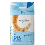 Whiskers2Tail Tofu Cat Litter Baby Powder 7L (6 Packs)