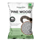 Whiskers2Tail Charcoal Pine Wood Litter 20kg (2 Packs)