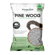 Whiskers2Tail Charcoal Pine Wood Litter 20kg