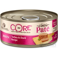 Wellness Core Grain Free Turkey & Duck*with Pork Liver 156g Carton (12 Cans)