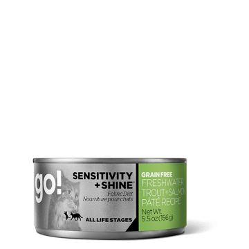 GO! SENSITIVITY + SHINE™ Freshwater Trout + Salmon Pâté Recipe 156g
