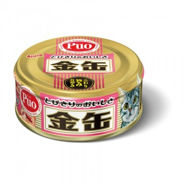 Aixia Kin Can Mini Tuna with Salmon 70g Carton (24 Cans)