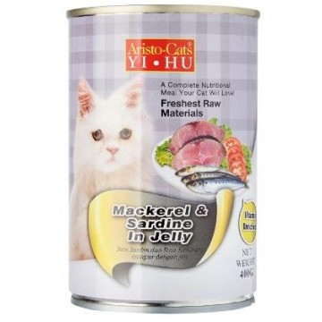 Aristo Cats Fresh Mackerel And Sardine In Jelly 400g carton (24 Cans)