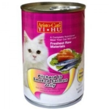 Aristo Cats Fresh Pilchard In Smoked Salmon Jelly 400g