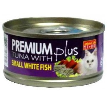Aristo Cats Premium Plus Tuna with Small Whitefish 80g carton (24 Cans)