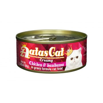 Aatas Cat Creamy Chicken & Kanikama 80g