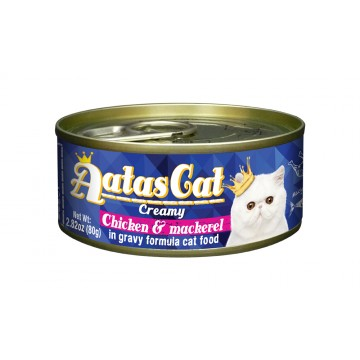 Aatas Cat Creamy Chicken & Mackerel 80g