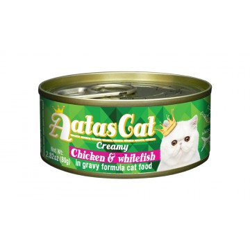 Aatas Cat Creamy Chicken & Whitefish 80g