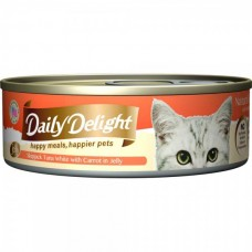 Daily Delight Jelly Skipjack Tuna White with Carrot 80g