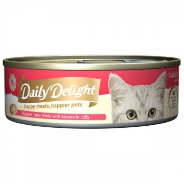 Daily Delight Jelly Skipjack Tuna White with Sasami 80g