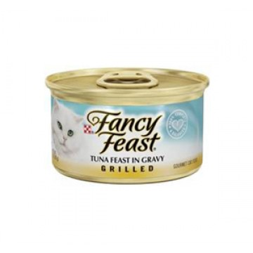Fancy Feast Grilled Tuna in Gravy 85g
