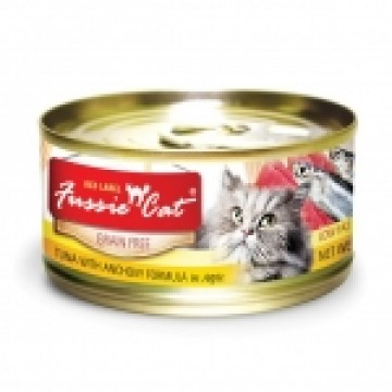 Fussie Cat Red Label Tuna with Anchovies 80g Carton (24 Cans)