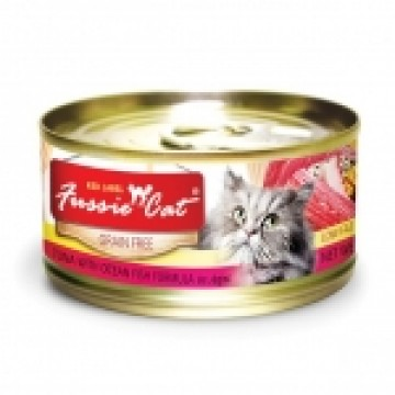Fussie Cat Red Label Tuna with Ocean Fish 80g