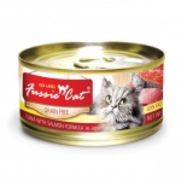 Fussie Cat Red Label Tuna with Salmon 80g