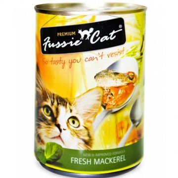 Fussie Cat Fresh Mackerel 400g