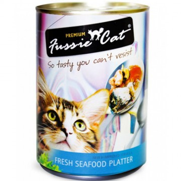 Fussie Cat Fresh Seafood Platter 400g