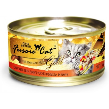 Fussie Cat Super Premium Grain Free Chicken With Beef 80g (24 Cans)