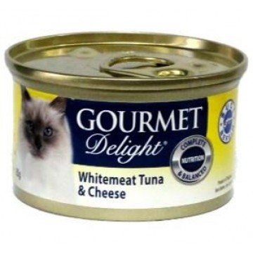 Gourmet Delight Whitemeat Tuna and Cheese 95g