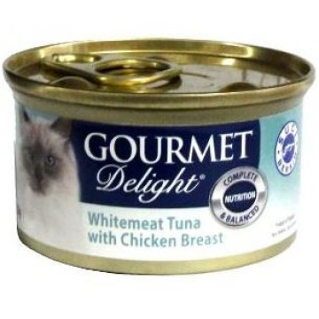 Gourmet Delight Whitemeat Tuna with Chicken Breast 95g