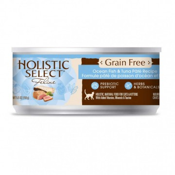 Holistic Select Grain Free Ocean Fish And Tuna Pate 156g