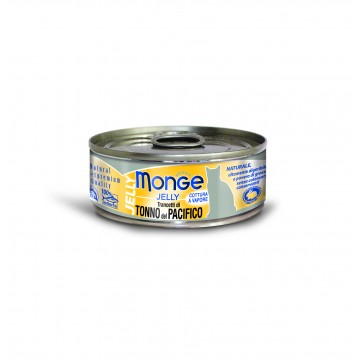 Monge Jelly Yellowfin Tuna 80g Carton (24 Cans)