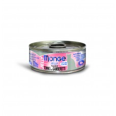 Monge Jelly Yellowfin Tuna with Shrimp 80g Carton (24 Cans)